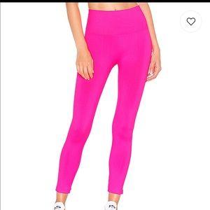 TLA Morgan Stewart neon pink leggings